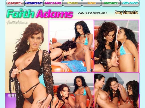 Faith Adams Register Free