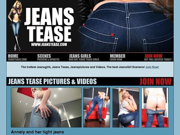 Jeanstease.com Renew