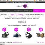 New Free Czech VR Casting Accounts