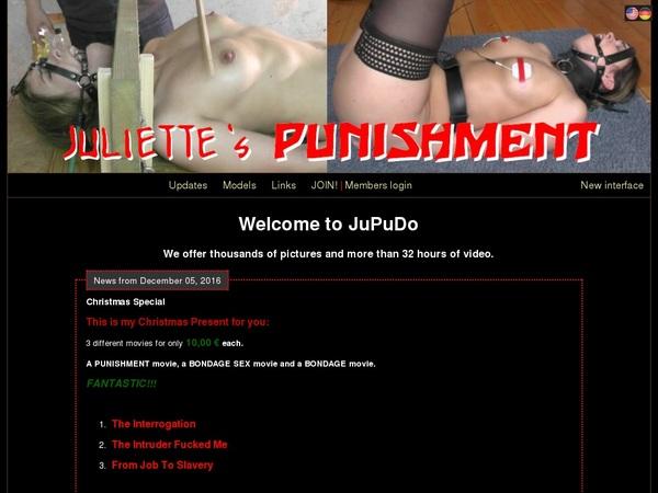 Passwords For Juliette's Punishment