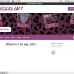 PrincessAmy With Cash