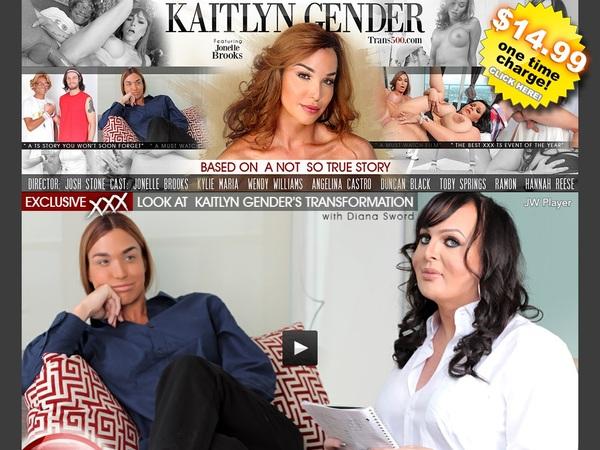 Kaitlyn Gender With Australian Dollars