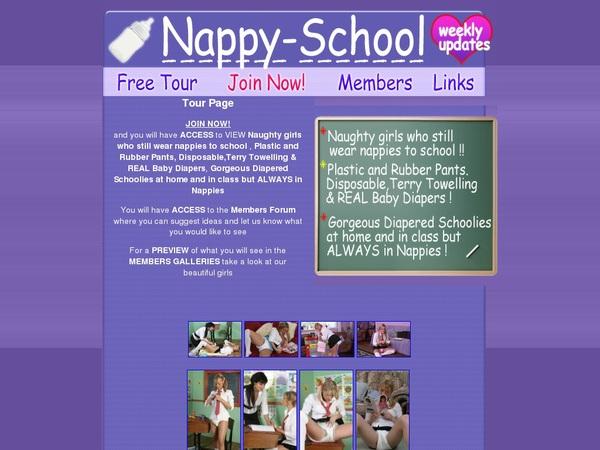 Nappy-school.com Discount Form