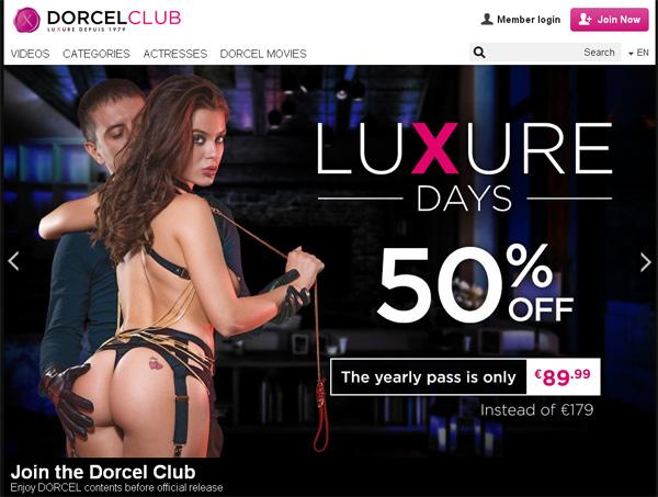 Dorcel Club Discount Offer