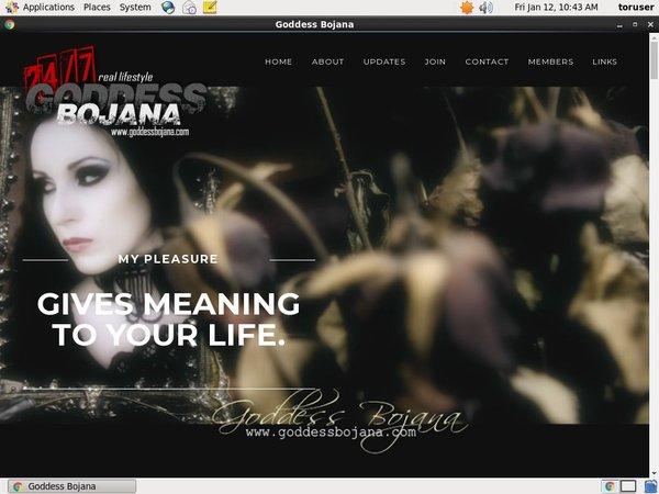 Goddess Bojana Instant Access